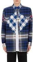 Givenchy Men's Columbian-Fit Plaid Flannel Shirt