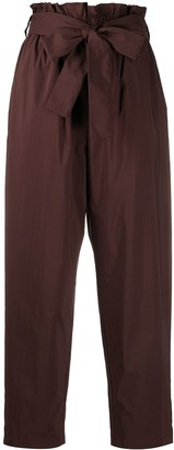 MSGM Paperbag Waist Trousers