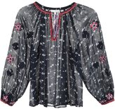 Ulla Johnson floral print peasant blouse - women - Silk - 2