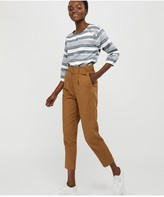 Monsoon Brooke Stripe Organic Cotton Linen Top