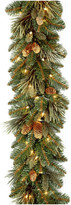 clear National Tree Company 9' Carolina Pine Garland With Lights