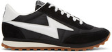 Marc Jacobs Black Astor Jogger Sneakers