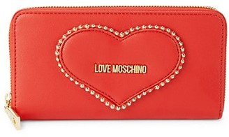 Love Moschino Heart Faux Leather Wallet