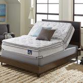Serta Extravagant Pillowtop King-size Mattress Set with Elite Pivot Adjustable Foundation