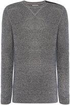 Calvin Klein Silto 1 Cn Zip Sweater Ls