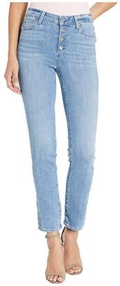 Paige Hoxton Slim w/ Exposed Button Fly in Dorado (Dorado) Women's Jeans