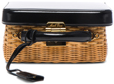 Mark Cross Grace Box Rattan Bag