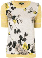 Rochas floral knitted top
