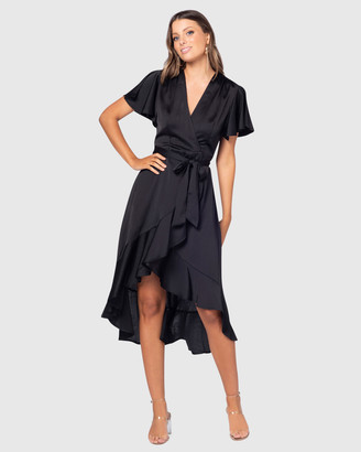 Pilgrim Women's Black Maxi dresses - Elisia Maxi Dress - Size One Size, 10 at The Iconic