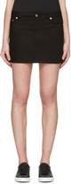 Givenchy Black Denim Skirt
