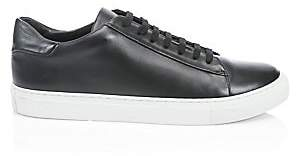 Saks Fifth Avenue Leather Sneakers