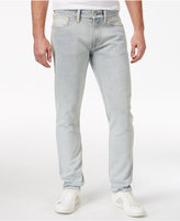 GUESS Men's Destroyed Slim-Fit Tapered Jeans