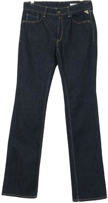 Replay Blue Cotton - elasthane Jeans for Women