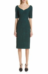 Jason Wu Collection Cloque Jacquard Cocktail Dress
