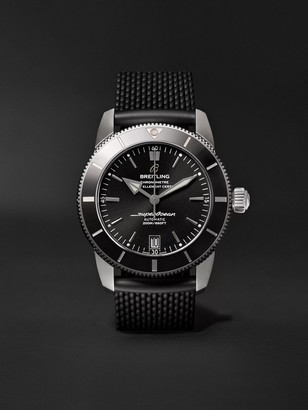 Breitling Superocean Heritage Ii B20 Automatic 42mm Stainless Steel And Rubber Watch, Ref. No. Ab2010121b1s1