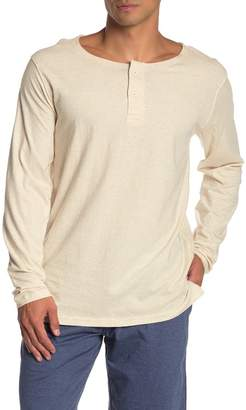 Unsimply Stitched Long Sleeve Knit Henley