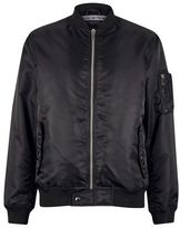 Burton Mens Black MA1 Bomber Jacket