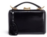 Mark Cross 'Grace Mini Box' interchangeable strap leather trunk