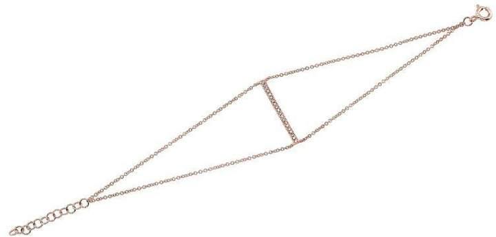 Anne Sisteron Diamond Bar Bracelet