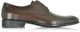 Moreschi Liverpool Dark Brown Leather Derby w/Rubber Sole