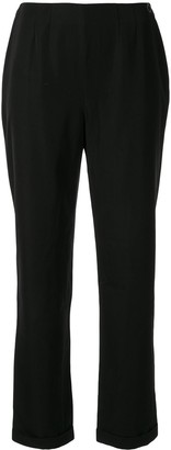 Chanel Pre Owned No Waistband Slim-Fit Trousers