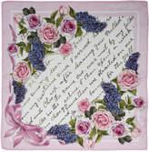 MonnaLisa floral printed scarf