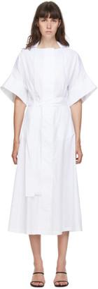 Esse Studios White The Shirt Dress