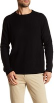 Autumn Cashmere Ribbed Crew Neck Sweater