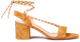 Gianvito Rossi Antibes 60 Suede Sandals
