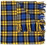 Faith Connexion small checked scarf - women - Polyamide/Mohair/Alpaca/Virgin Wool - One Size