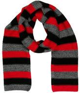 Sonia Rykiel Striped Wool Scarf