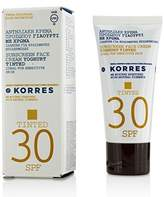 Korres Yoghurt Tinted Sunscreen Face Cream SPF30 - Ideal For Sensitive Skin - 50ml/1.69oz