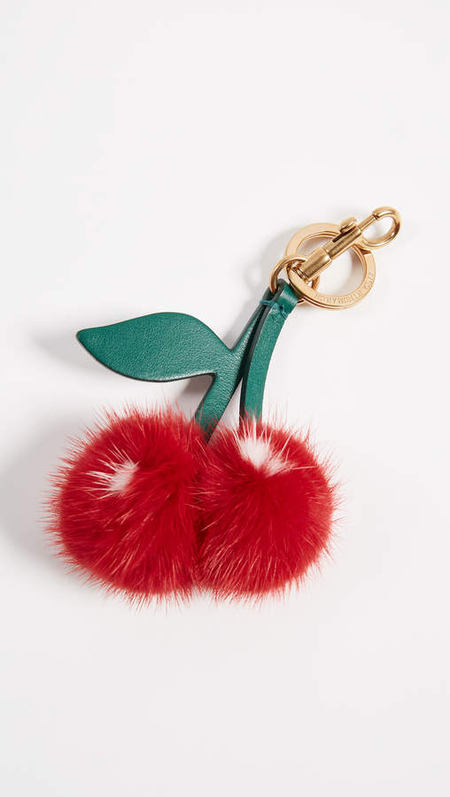 Anya Hindmarch Tassel Cherry Key Chain