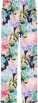 Gucci Hydrangea silk pajama pant - women - Silk - 38