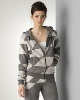 Women's Diagonal Patchwork Hoodie