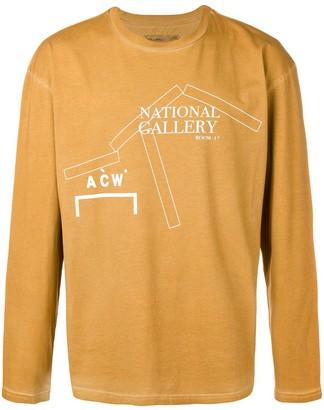 A-Cold-Wall* logo long sleeved T-shirt