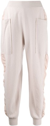 Stella McCartney Knitted High-Rise Track Pants