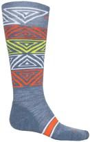 Smartwool PhD Slopestyle Switch Alley-Oop Socks - Merino Wool, Mid Calf (For Women)