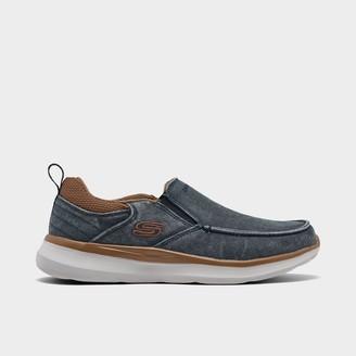 Skechers Men's Delson 2.0 - Larwin Slip-On Casual Shoes
