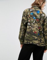Gestuz Bello Camo Jacket