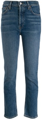 RE/DONE High Rise Slim Fit Jeans