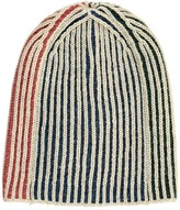 Bobo Choses Two-Tone Striped Beanie
