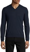 Burberry Men's Wool V-Neck Sweater