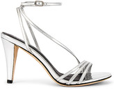 Lola Cruz Westerlund Mirror Heeled Sandals