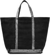 Vanessa Bruno Suede Tote with Sequin Embellishment