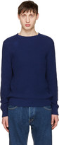 A.P.C. Blue Travel Sweater