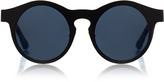 Kris Van Assche Linda Farrow X Black Aluminium With Grey Lens Sunglasses