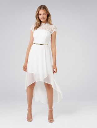Ever New Cassie Lace Bodice Two-in-One Dress