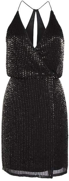 French Connection Enid Shimmer Mini Dress