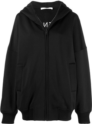 Givenchy Logo Oversized Hooded Zipper